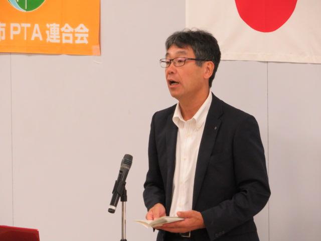 渡島教育局局長